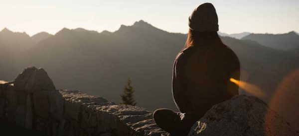 Csend meditáció